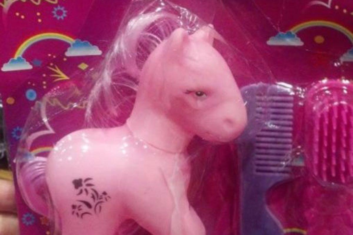 """Otro terrible """"Mi Pequeño Pony"""". Foto:vía Tumblr/ Bootleg Action Figures"""