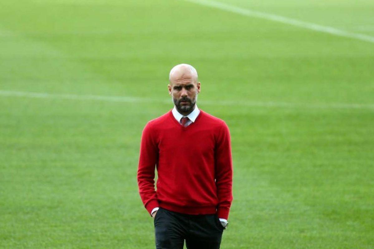 Pep Guardiola al frente de los alemanes. Foto:Getty Images