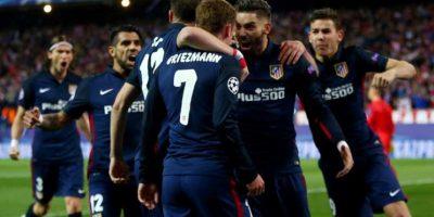 """El marcador fue un global de 3-2 a favor de los """"Colchoneros"""". Foto:Getty Images"""