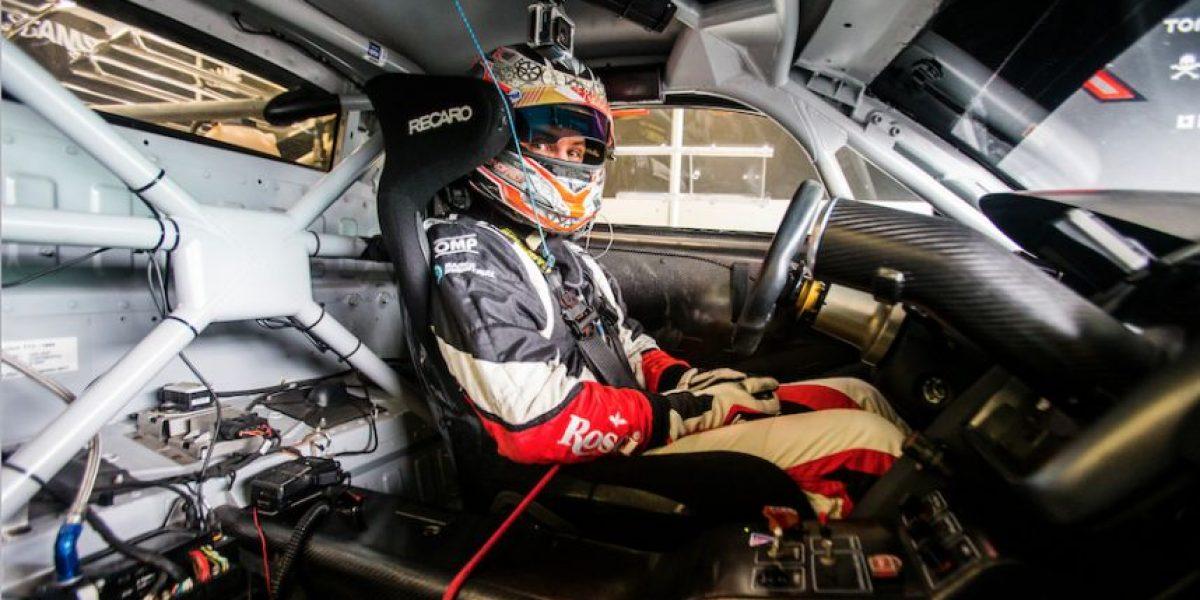 Entrevista con Andrés Saravia por su segundo lugar en el International GT Open en el circuito de Portugal