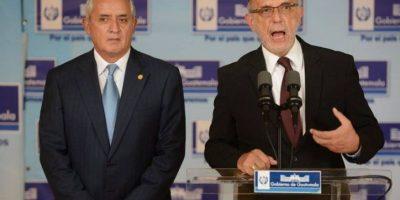"Expresidente Pérez Molina dice estar ""arrepentido"" de haber prorrogado mandato de CICIG"