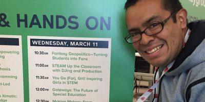 Adrian Catalan, un guatemalteco que da charlas de tecnología alrededor del mundo