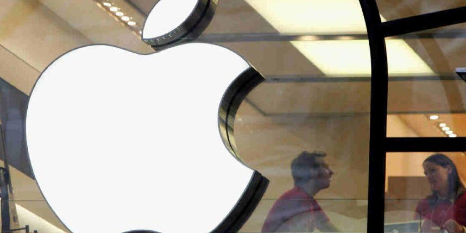Esto en las oficinas de Apple en Cupertino. Foto:Getty Images