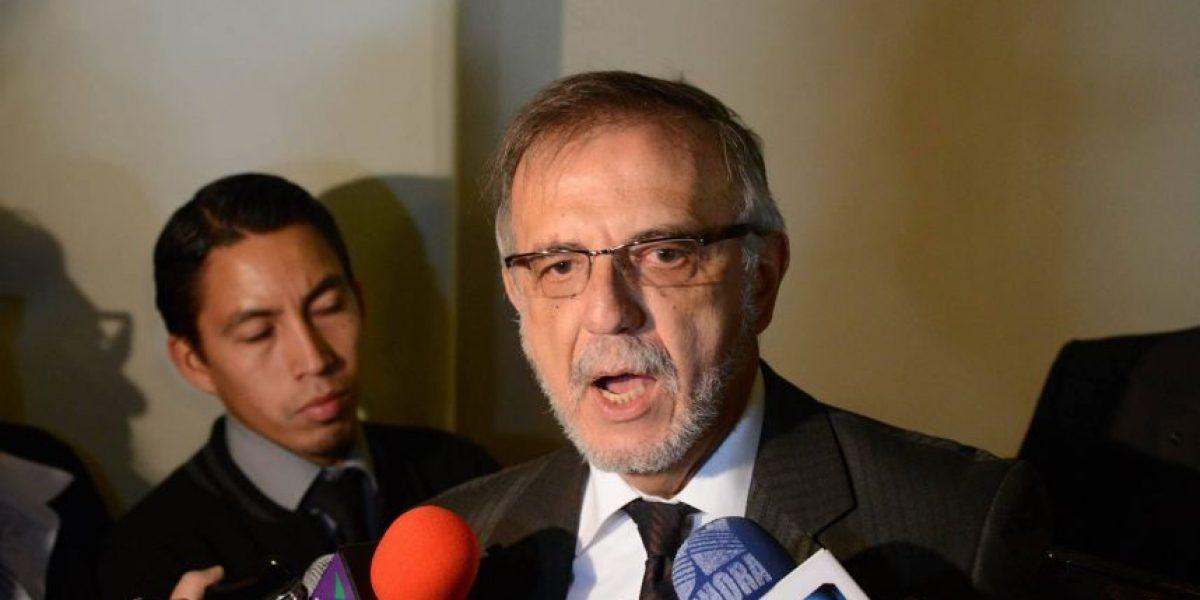 Comisionado Iván Velásquez responde a declaraciones de Otto Pérez