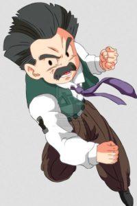 Krilin, mejor amigo de Gokú. Es el personaje que más veces ha muerto en la serie. Foto:Toei