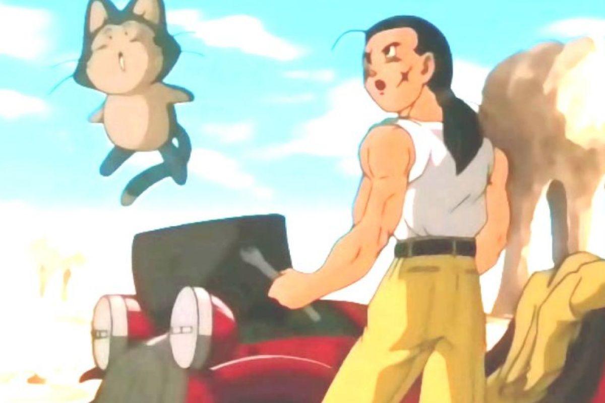 Yamcha comienza siendo un mercenario que se une a Gokú y sus amigos. Se ha dedicado a deportes como el baseball. Fue novio de Bulma, por largo tiempo. Foto:Toei