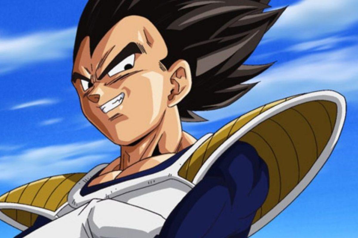 Vegeta, príncipe de los saiyajin y principal rival de Gokú. Destaca por su astucia. Foto:Toei