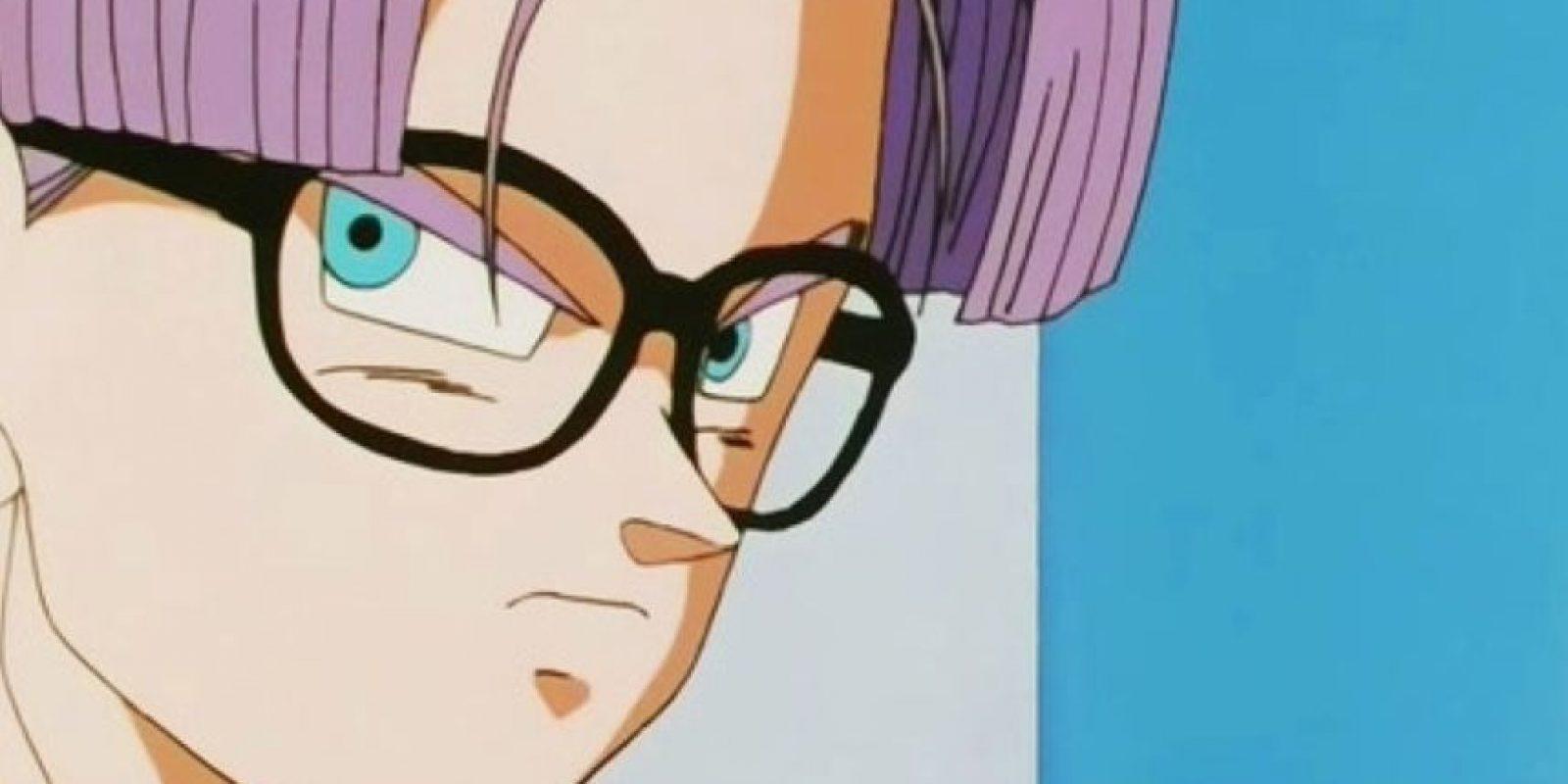 """Trunks, hijo de Bulma y Vegeta. Su versión del futuro viene a advertirle a Gokú y sus amigos lo que pasará con los androides. Su versión """"actual"""" es más floja y más mimada. Foto:Toei"""