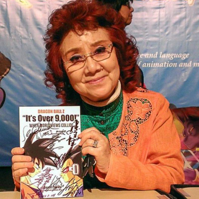 La voz original de Gokú la hace una mujer. Se llama Masako Nozawa. Foto:DragonBallWorld
