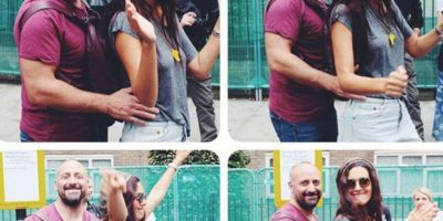 Hace una pareja muy mediática con Halit. Foto:vía Facebook/Bergüzar Korel