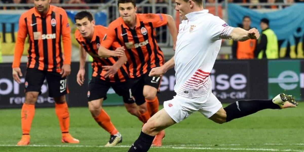 Resultado del partido Shakhtar Donetsk vs Sevilla, semifinales de ida de Europa League 2015-2016