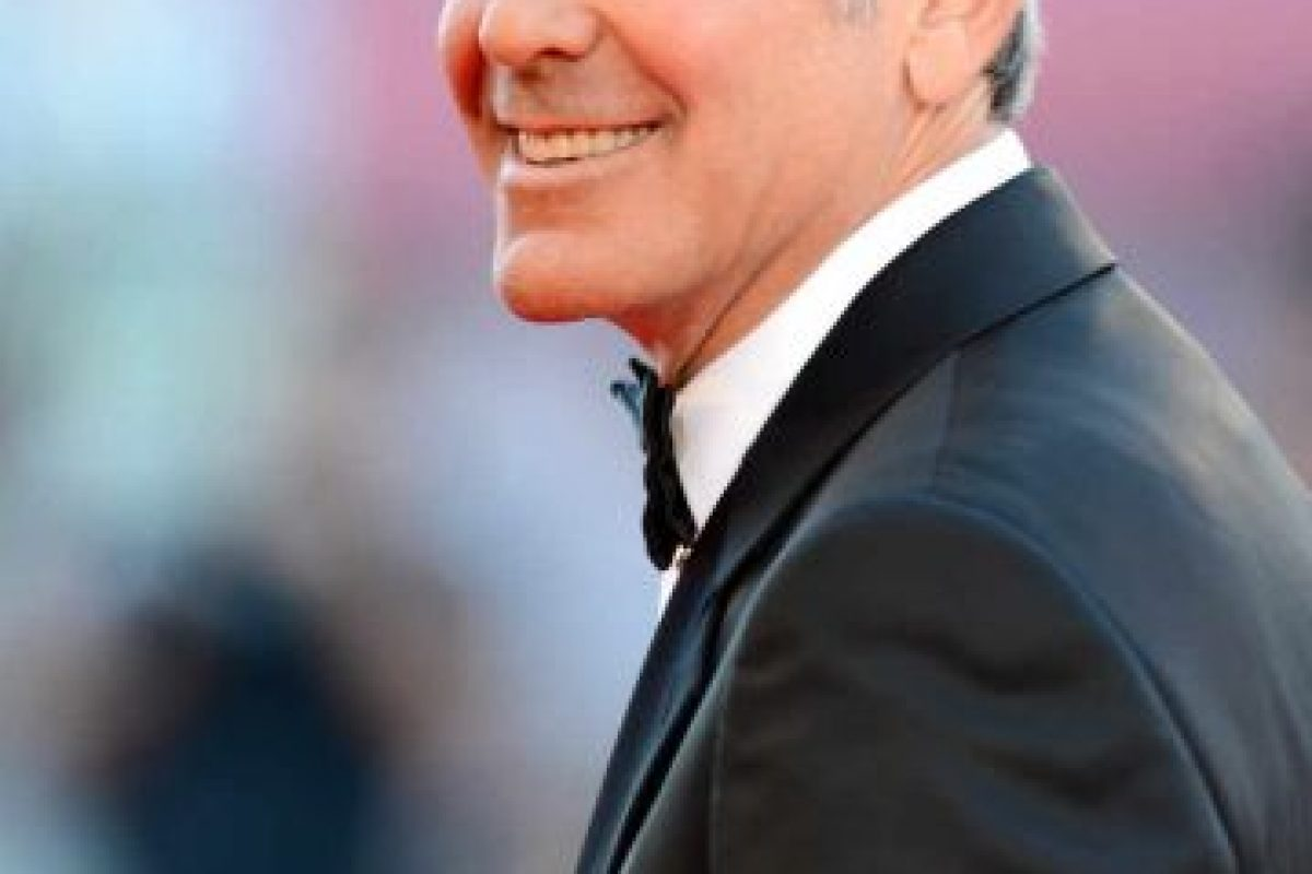 3.- George Clooney Foto:Getty Images