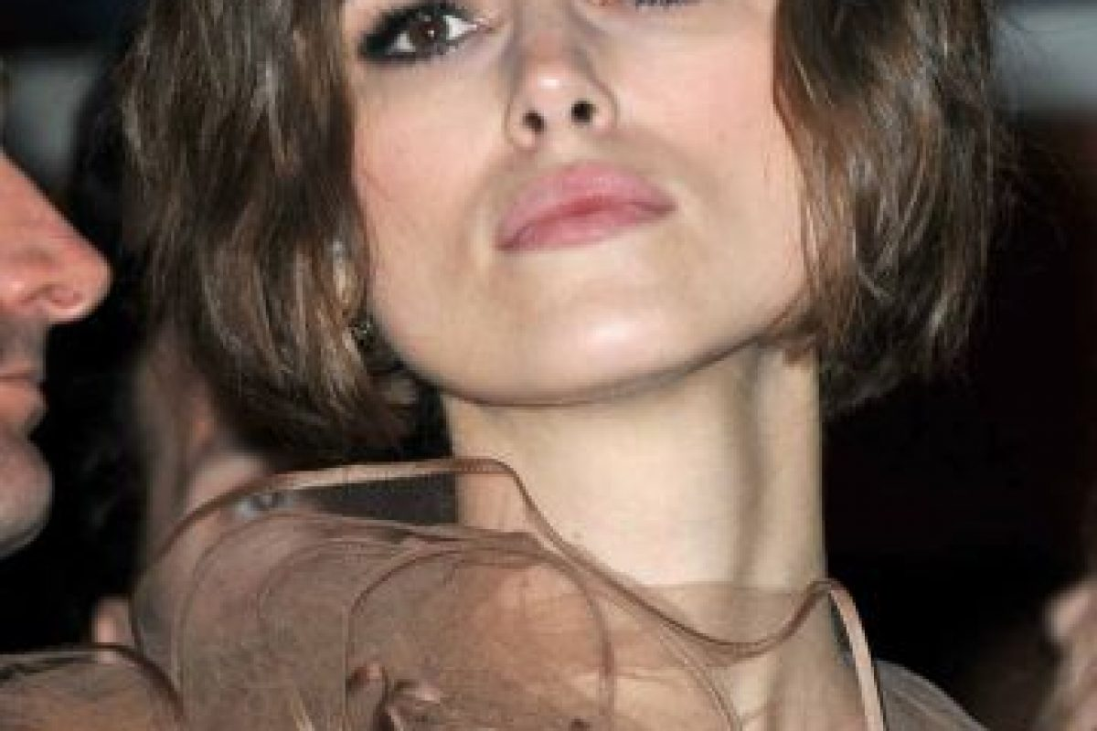 7.- Keira Knightley Foto:Getty Images