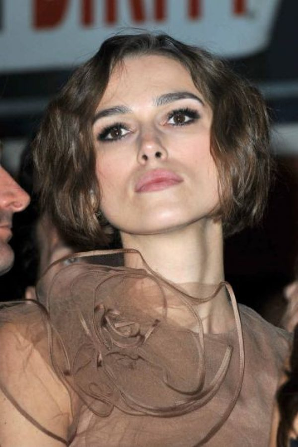 7.- Keira Knightley Foto: Getty Images