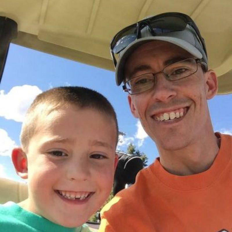 Delbert Latham y su hijo Kaysen Foto:Facebook
