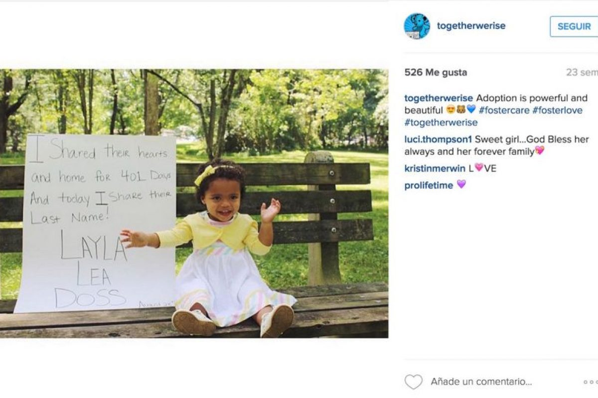 """""""Compartí su corazón y su estancia durante 401 días y hoy comparto su apellido"""" Foto:Instagram.com/togetherwerise/"""