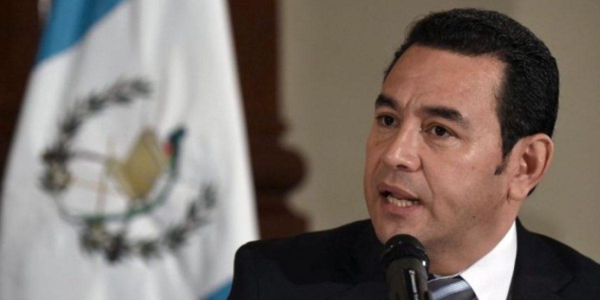 Jimmy Morales confirma proceso de nulidad del contrato con TCQ