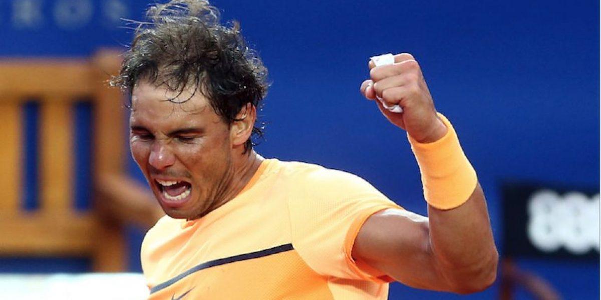 Tenista Rafael Nadal abanderado de España para los Juegos Olímpicos de Rio 2016
