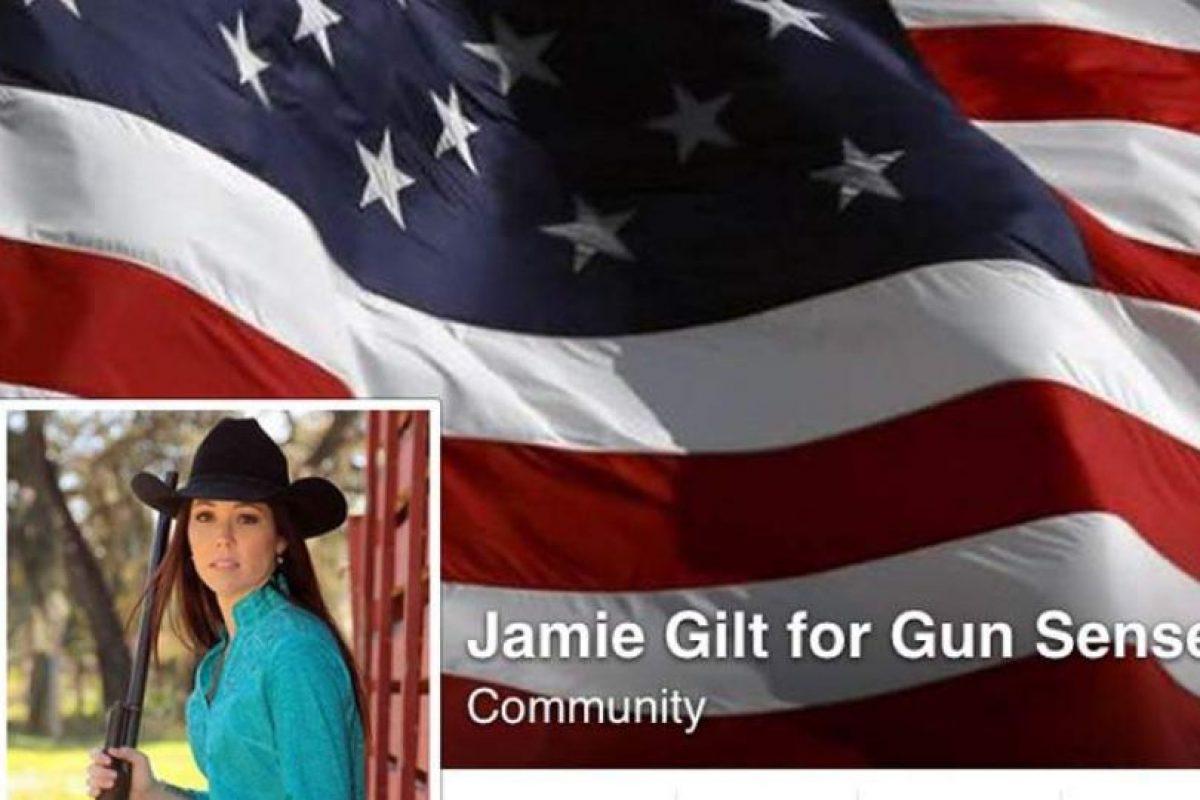 En marzo la activista en pro de las armas, Jamie Gilt también fue baleada Foto:Facebook.com