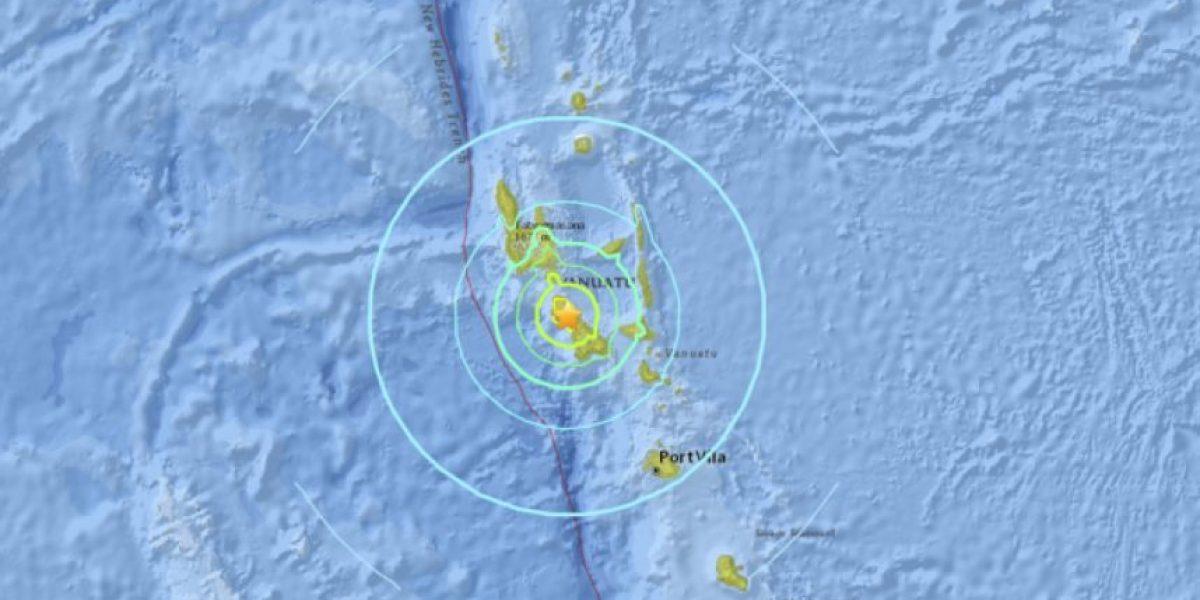 Terremoto en Vanuatu y posible tsunami hoy, 28 de abril de 2016