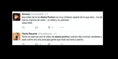 Otros la entienden, ya que la discriminación es fuerte en perú. Foto:vía Twitter