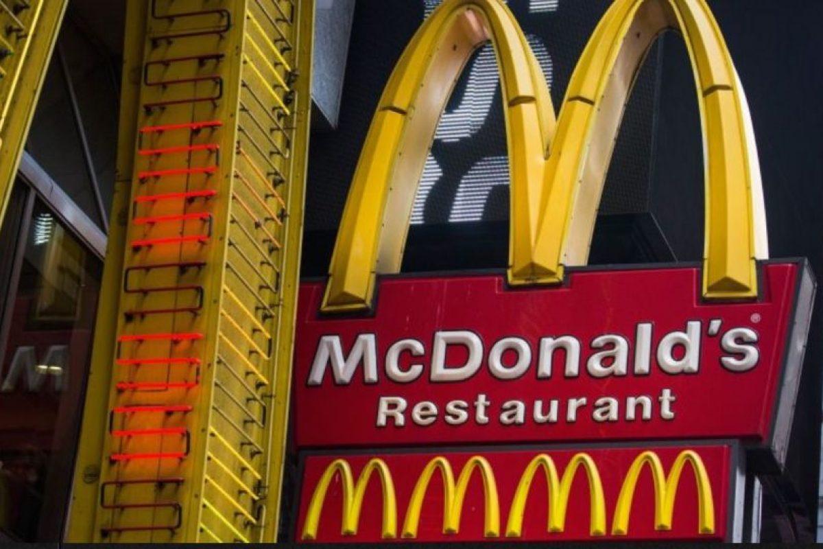 En el mundo existen más de 36 mil restaurantes de la cadena de comida rápida McDonald's, lo que la ha posicionado como una de las empresas estadounidenses más conocidas del planeta Foto:Getty Images