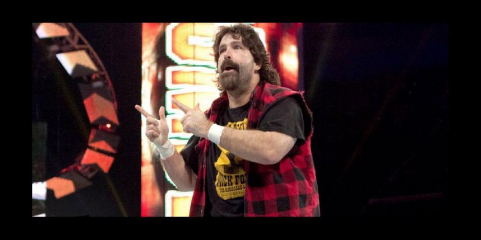 Foley en 2012 Foto:WWE