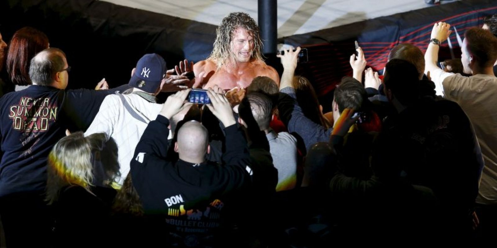 Forma parte de WWE desde 2004 Foto: Getty Images
