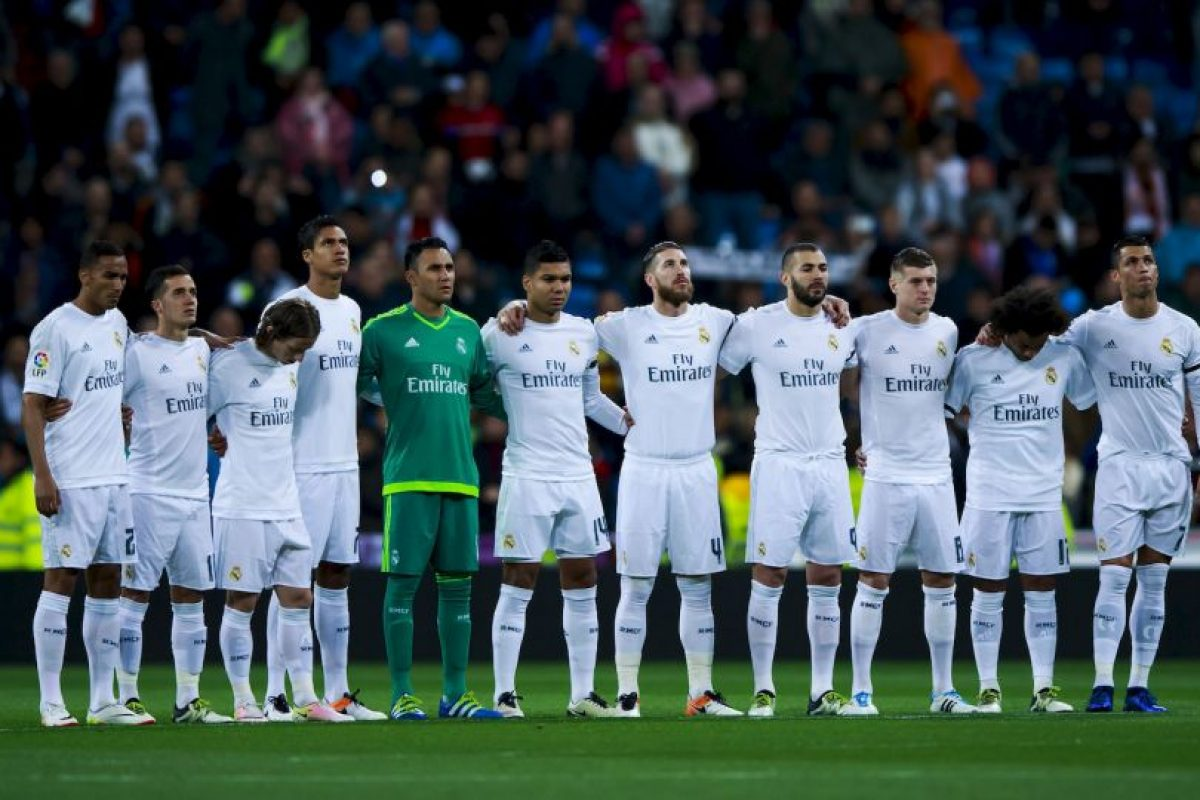Este es el actual uniforme de local del Real Madrid Foto: Getty Images