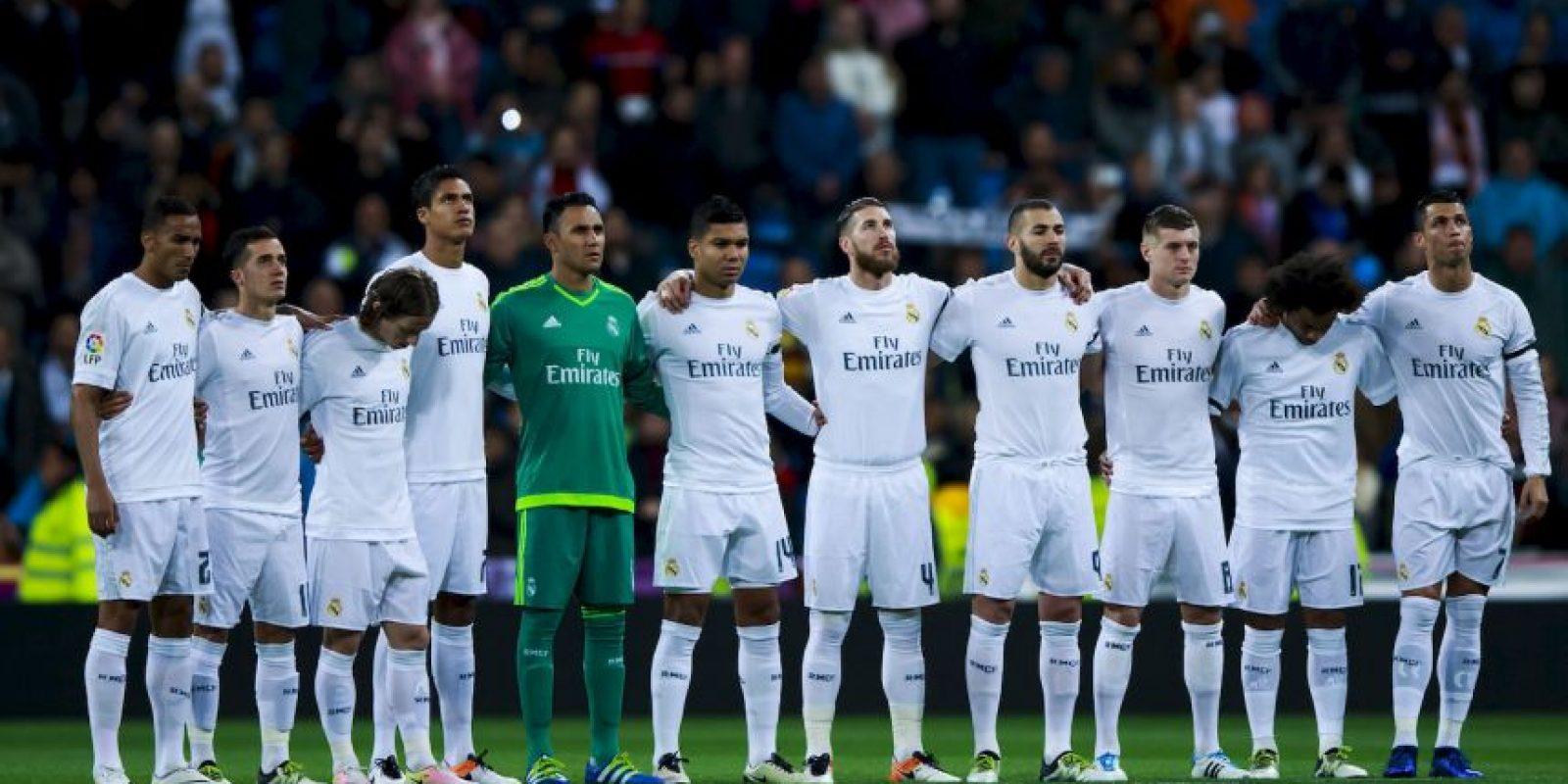 Este es el actual uniforme de local del Real Madrid Foto:Getty Images
