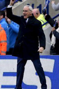 Claudio Ranieri es el DT del equipo que está muy cerca de cumplir un sueño: el título de la Premier League Foto:Getty Images