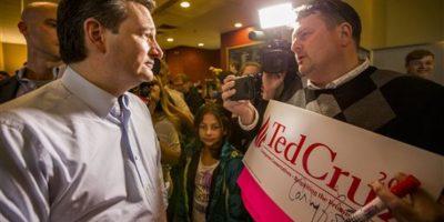 Cruz tiene solo 566 delegados de mil 237 que necesita para ser nominado. Foto:AP