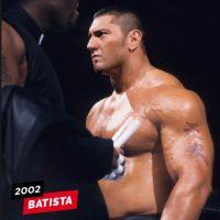 Batista en 2002 Foto:WWE