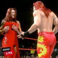 Lita en 2000 Foto:WWE