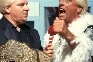 Ric Flair hizo su aparición en 1991 Foto:WWE