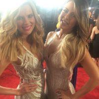 Maritza Rodriguez y Jimena Duque Foto:Vía Instagram/@latinbillboards