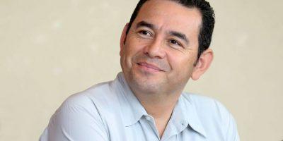 Presidente de Guatemala Foto:Agencias