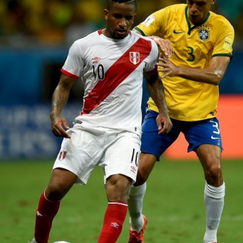 Jefferson Farfán (Perú) Foto: Getty Images