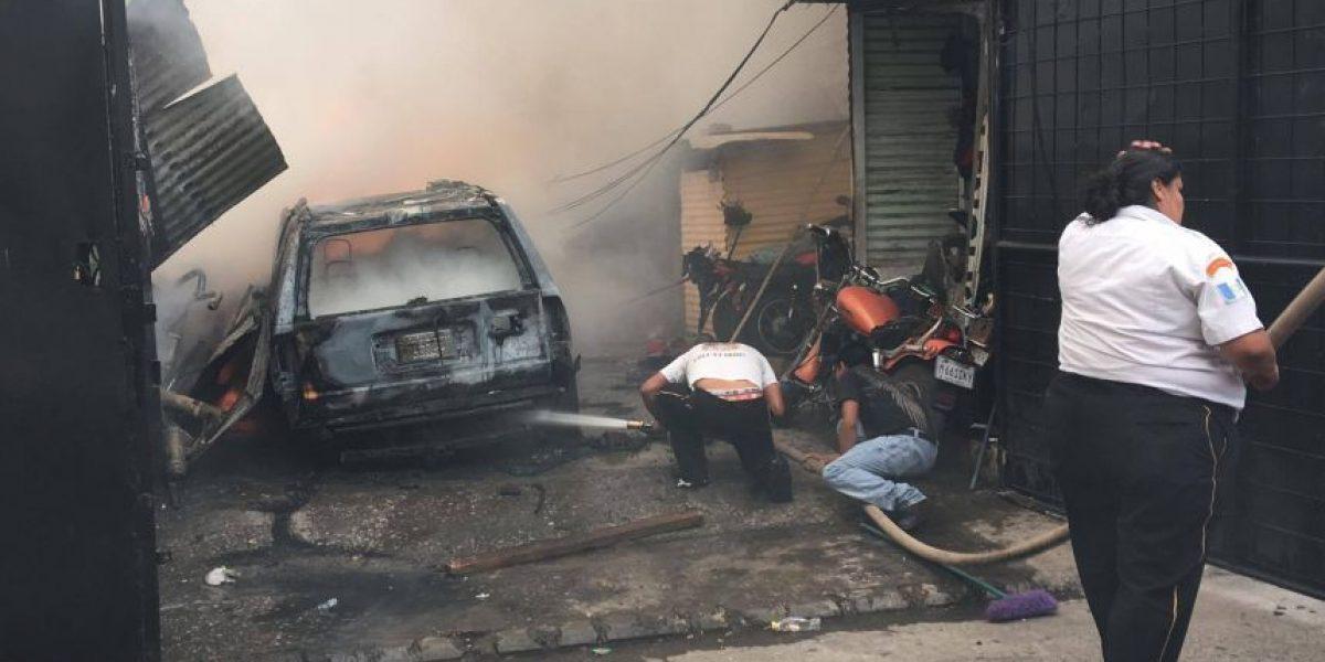 Se quema vivienda en aldea Boca del Monte