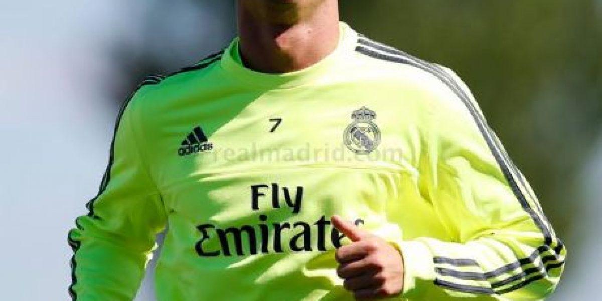 Cristiano Ronaldo se entrena a pesar de sus problemas musculares anunció el club Real Madrid
