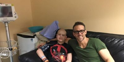 Esto le escribió Ryan Reynolds a un pequeño fan que murió de cáncer