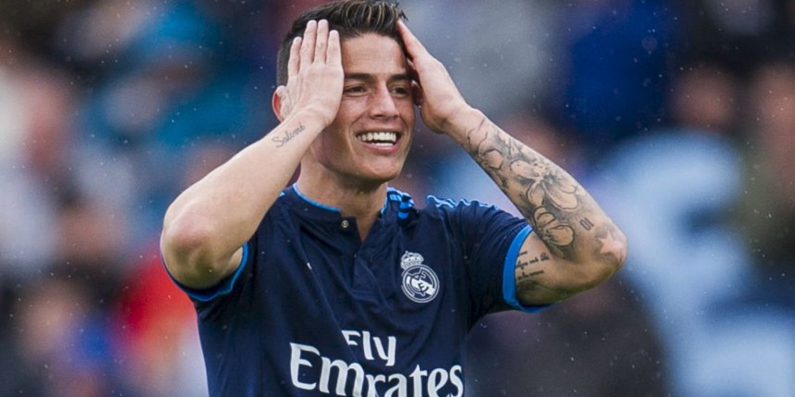 La debacle de James Rodríguez con Zidane Foto: Getty Images
