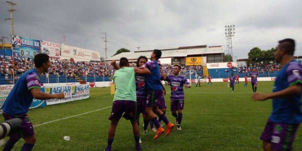 Resultado del partido Deportivo Suchitepéquez vs. Antigua GFC, Torneo Clausura 2016