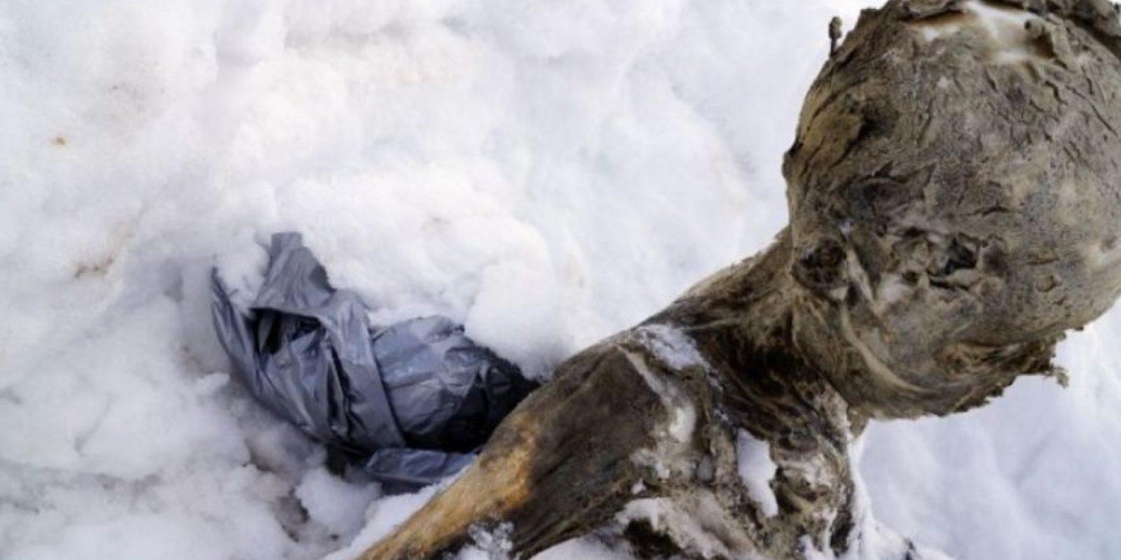 Se supo que el cuerpo perteneció a un hombre de entre 52 y 71 años Foto:AFP