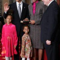 En 2005, Barack Obama juramentó como senador estadounidense Foto:Getty Images