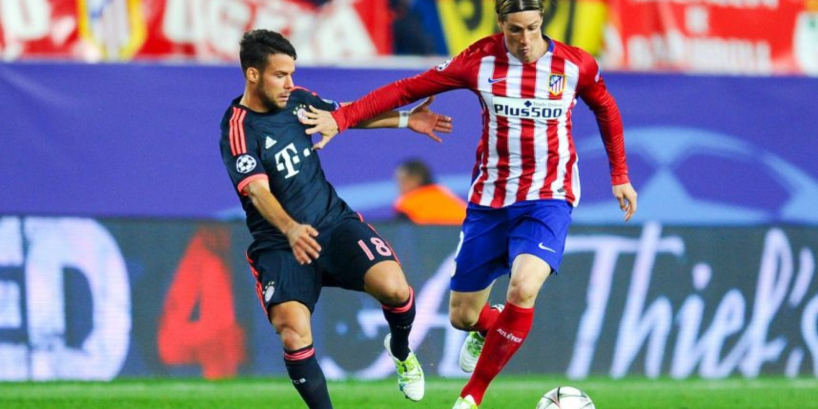 Bayern Múnich vs. Atlético de Madrid Foto:Getty Images
