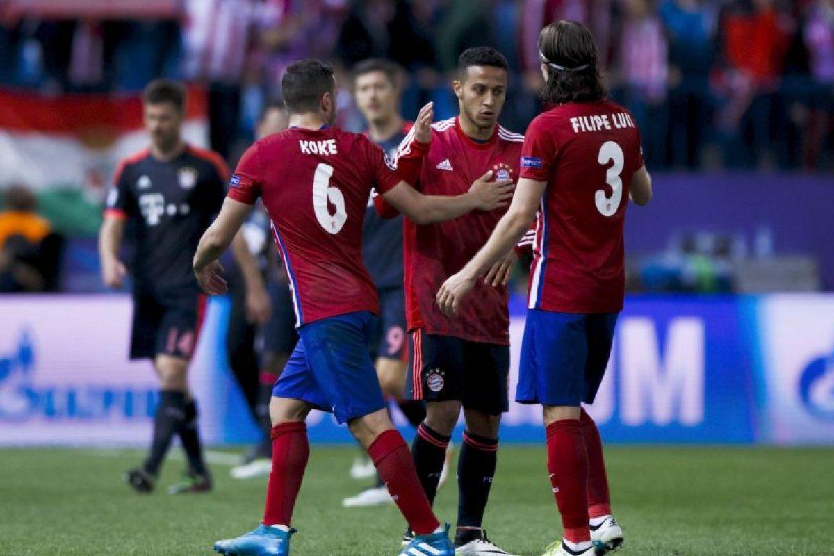"""En el duelo de ida los """"colchoneros"""" se impusieron 1-0 en el Vicente Calderón Foto:Getty Images"""