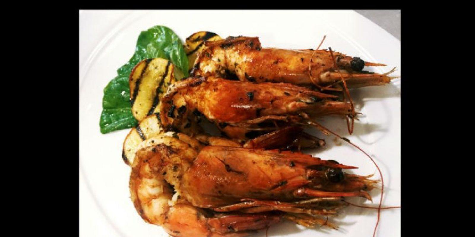 """""""Este plato es especial porque hace tributo a uno de los productos emblema del Ecuador como son sus langostinos, presentes en los mejores restaurantes del mundo"""". Foto:Patricio Granja, Quito. Ecuador"""