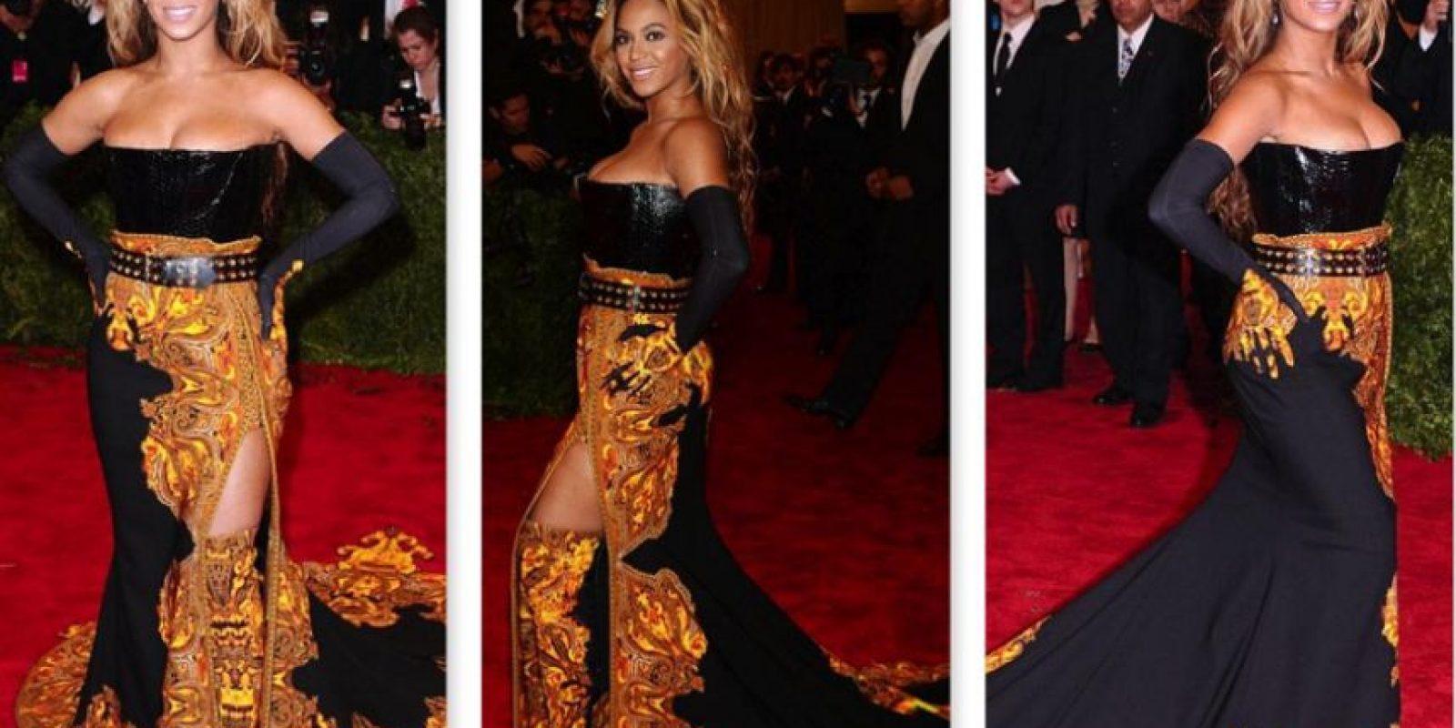 Beyoncé llevó el barroco muy lejos en 2013. Foto:vía Getty Images