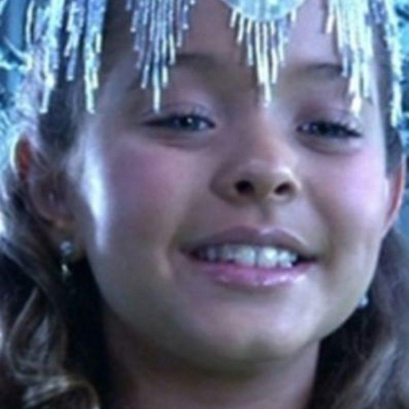 """Sasha Pieterse era """"La Princesa del Hielo"""". Foto:vía Columbia Pictures"""